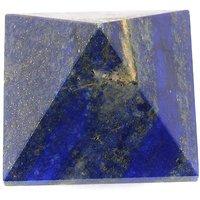 152 Cts Lapis Lazuli Pyramid 30mm X 30mm X 25mm