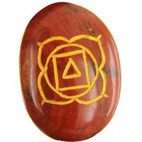 73.83 Ct Red Jasper Gemstone Chakra