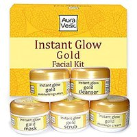 Instant Glow Gold Facial Kit