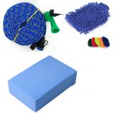 Car Wash Water Spray Gun  Magic Pva Foam  Micro Fiber Hand Gloves Cleaner