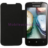 LEATHER DIARY FOLIO FLIP FLAP CASE for LENOVO A390 MOBILE FRONT/BACK FULL COVER available at ShopClues for Rs.199