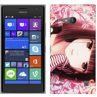 WOW Printed Back Cover Case for Nokia Lumia 730
