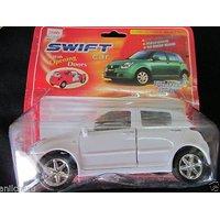 Baby Toy White Swift Car Pull Back Vehicle Kids Kid Gift Transport