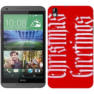 WOW Printed Back Cover Case for HTC Desire 816