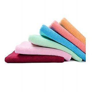Super Soft Face Towels - 4 Pcs