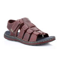 Red Tape Mens Black Casual Sandals (RSS1893)