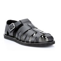 Red Tape Mens Black Casual Sandals (RSS1861)