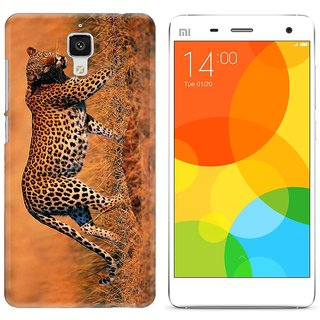 WOW Printed Back Cover Case for Mi4