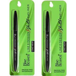 Blue Heaven Line Design Sketch Eyeliner(1 ml each)(set of 2)