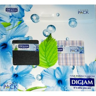 Combo Pack Trouser Shirt Fabric By Digjam Unstiched