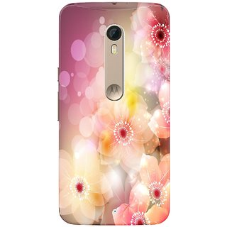 WOW Printed Back Cover Case for Motorola Moto X Style