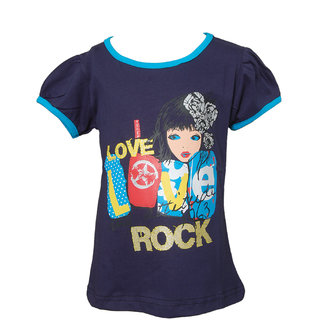 DWLS LOVE ROCK Navy