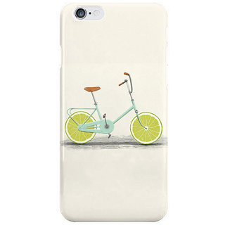 The Fappy Store Lemon Wheel Bycycle Back Cover For Iphone 6S