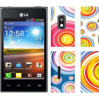 WOW Printed Back Cover Case for LG Optimus L5 Dual E615