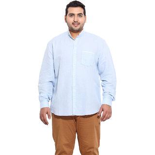 Blue Coloured Linen Shirts