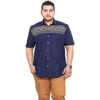 Blue Coloured Cotton Denim Shirts