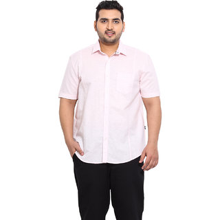 Light Pink Coloured Linen Shirts