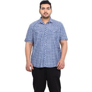 Blue Coloured Cotton Shirts