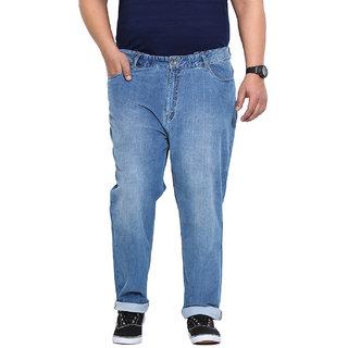 Blue Coloured Cotton Stretch Denim Jeans