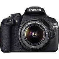 Canon EOS 1200D Kit (EF S18-55 IS II) SLR (Black)