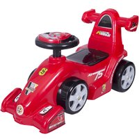 Ez Playmates Baby Ride On Formula Car Red