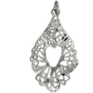 Plain Silver Fashionable Gorgeous looking Sterling Silver Pendant