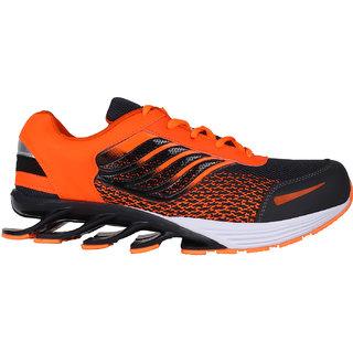 Bersache Orange-387 Men/Boys Sports Shoes (Running Shoes)