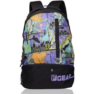 55%off F Gear Shock Gym Bag(Purple Green)