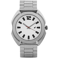 FASTRACK MEN METAL ANALOG SILVER WATCHES 3117SM01