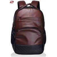 F Gear Luxur 25 liter Laptop Backpack(Brown)