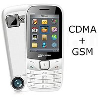Micromax CG666 2.4 Inches (GSM + CDMA) Multimedia Camera Mobile Phone
