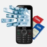 UNLOCK CDMA MTS CG 132 CDMA + GSM MULTIMEDIA MOBILE LONG BATTERY BIG SCREEN
