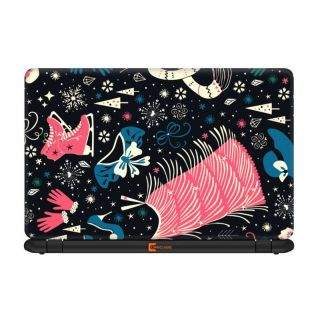 Ownclique Retro Objects Pattern 15.6 inches Laptop skin OC5R3LS27