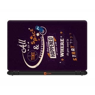 Ownclique All about Time and Space 13.3 inches Laptop skin