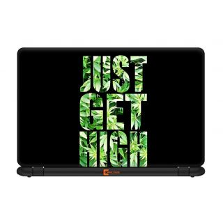 Ownclique Just Get High Laptop Skin for 17 inches Laptop