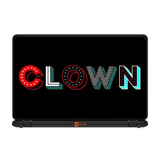 Ownclique Clown Laptop Skin for 17 inches Laptop