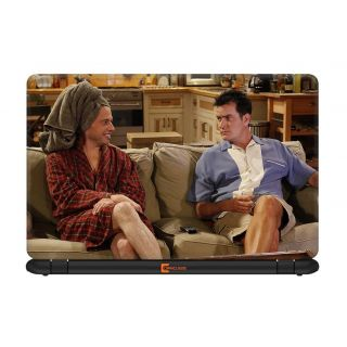 Ownclique Two and a Half Men Laptop Skin for 17 inches Laptop