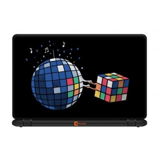 Ownclique Cubic World Laptop Skin for 17 inches Laptop