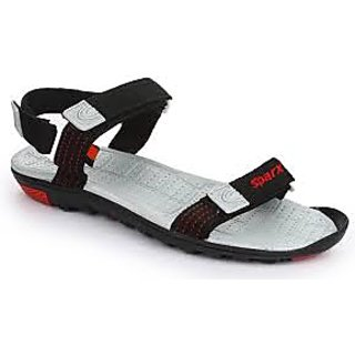 branded sparx sandals ss414 in black colour