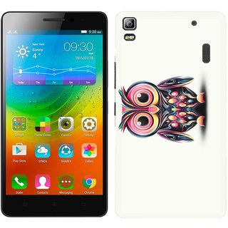 WOW Printed Back Cover Case for Lenovo A7000