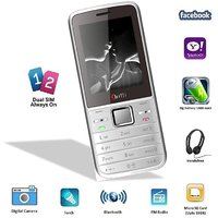 Chilli-B27 Dual Sim GSM With Facebook Multimedia Camera Mobile Phone