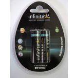 Envie Infinite Plus Ready To Use 2500mah 2nos. Rechargeble Battery 2500 Mah