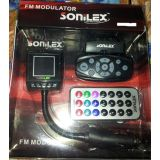 Sonilex Car Mp3 Fm Modulator Transmitter With Steering Control Kit And Remote 25 Clone