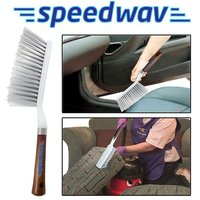 Hard and Long Bristles Cleaning Brush for Car Seat Carpet Mats