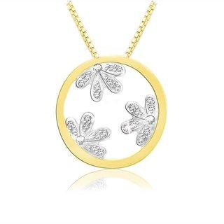 Sparkles 0.06 Ct. Beautiful 18Kt Gold & Diamond Earrings (Design 5)
