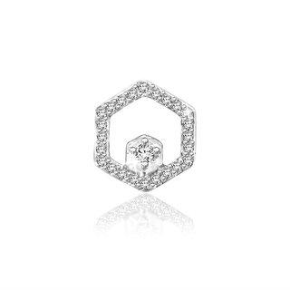 Sparkles 0.06 Ct. Beautiful 18Kt Gold & Diamond Earrings (Design 9)