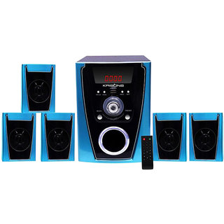 Krisons PoloBlue 5.1 Bluetooth Speaker System With AUX
