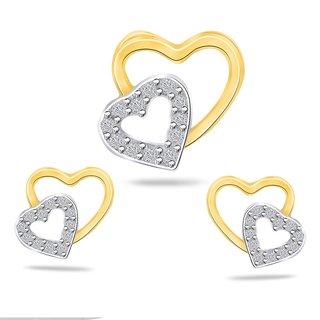 Sparkles 0.15 Ct. Heart Diamond Sets