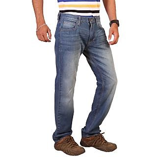 Lee Blue Slim Fit Low Waist Mens Jeans