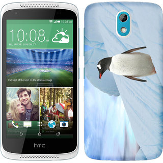 WOW Printed Back Cover Case for HTC Desire 526G Plus